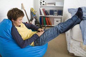 Farve ideer til et Teenage-værelse