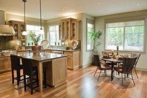 Køkken & Dining Room Makeover ideer & Tips
