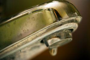 Sådan fjerner fastsiddende vand ventilsæder