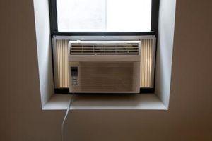 Hvorfor Air conditionere blæser kold luft, men rummet er ikke nedkøling