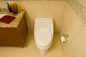 Hvordan installeres laminat gulv i nærheden af et Toilet
