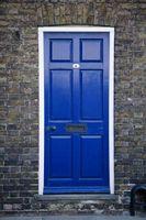 Skal jeg male en dørkarm i højglans eller semi-gloss?
