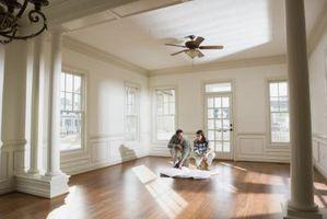 At gøre et åbent koncept stuen kig hyggelige