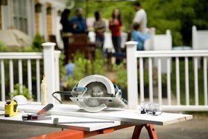 Hvordan at skære en Premade laminat bordplade