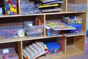 Hvordan til at dekorere for førskolebørn med hylder