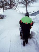 Hvordan man finder et varenummer for sne-blæser snegl bælter