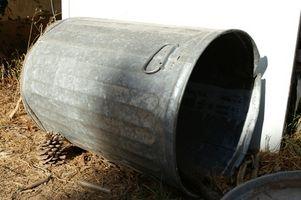 Instruktioner for at gøre en kompost Bin