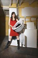 Hvordan at justere spændinger på Frigidaire vaskemaskine