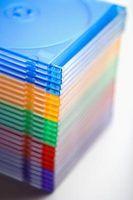 Centerpiece håndværk ideer fra CD containere