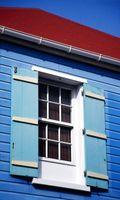 Hvordan at ramme en lukker vinduet med gardiner