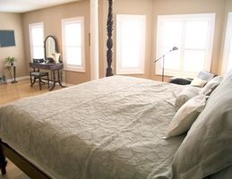 Sommerhus soveværelse farver