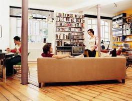 Ideer til værelse delelinjer for en hems lejlighed