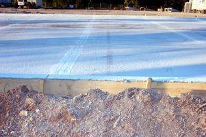 Sådan cure betonunderlag