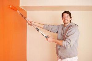 Sådan Paint fremstillet hjem vægge