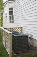 Hvordan at rengøre en AC kondensator