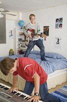 Sådan Decorate med fotos til en Preteen dreng værelse
