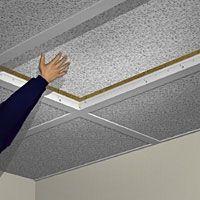 Hvordan til at hænge et Drop loft