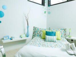 Hvordan at tilføje farve til et soveværelse