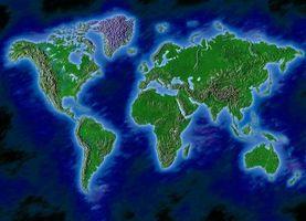 Sådan Decorate med en verden korttema