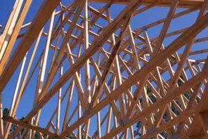 Tag struktur typer for bærende vægge
