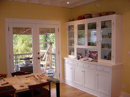 Køkken skab design