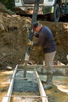 Sådan Fix beton fod stilk væg Blowout