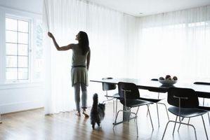 Ideer til at hænge lange stejle gardiner