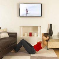 Kan du hænge en slank HDTV på væggen?