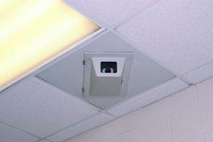 Hvilken slags forsænket belysning kan jeg bruge en dråbe loftet?