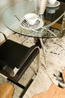 Hvor hen til forlænge en runde glas spisebord