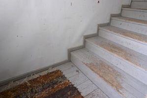 Kan du bruge tæppe fliser i stedet for trappetrin?