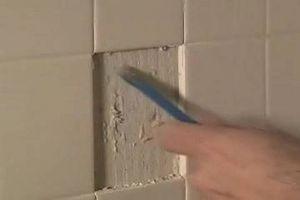 Sådan glat badeværelse vægge efter at fjerne fliser