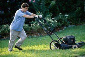 Hvordan man kan afgøre, om en Yard skråning er Mowable