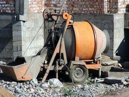 Elektrisk Cement Mixer vedligeholdelse