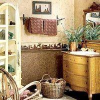 Hvordan man kan dekorere et pulver værelse med en tapet kant