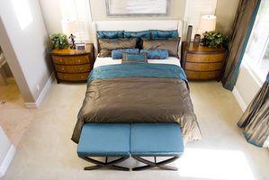 Ideer til moderne soveværelser
