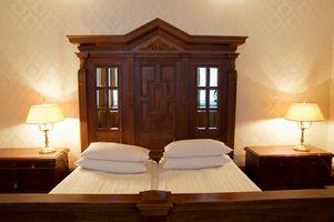 Hvordan man kan dekorere en victoriansk soveværelse