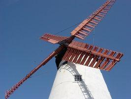 Hvordan man opbygger en simpel vindmølle-Generator