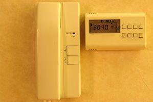 Sådan foretages fejlfinding af en væg ovn termostat