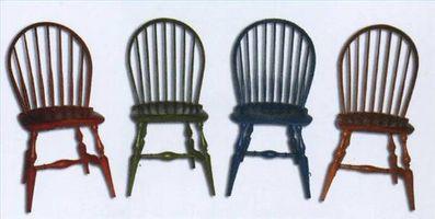 Hvordan at male gamle køkkenstole