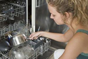Hvordan at reparere en opvaskemaskine træsko