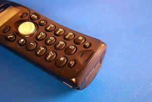 Hvordan kan jeg hente tidligere telefon numre ringet på linjen jord?