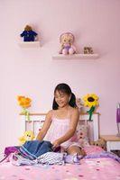 Ideer til dekorere en 5-årige piger værelse