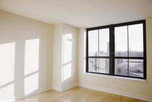Tips til en lang lejlighed med ét vindue