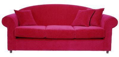 Hvad gardiner til at hænge med en rød Sofa?