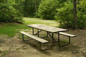 Hvordan man opbygger en Benchless picnicbord
