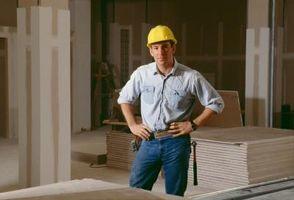 Hvad størrelse skruer til 5/8 Drywall?