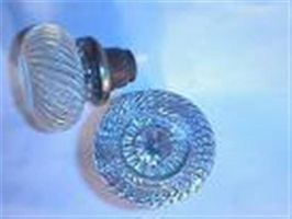 Historien om glas dørhåndtag