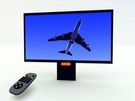 Problemer med en TV Over pejsen