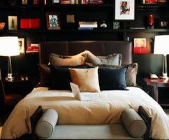 Ideer til store soveværelser med senge i værelser